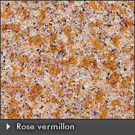 granit Rose vermillon